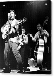 Elvis Presley With Band Acrylic Print