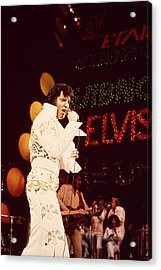 Elvis Acrylic Print by Retro Images Archive