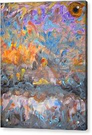 Elysion Fields Acrylic Print by Darryl  Kravitz
