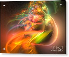 Acrylic Print featuring the digital art Elysium by Sipo Liimatainen