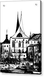 Emauzy - Benedictine Monastery Acrylic Print by Michal Boubin