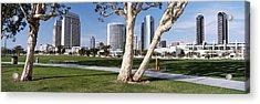 Embarcadero Marina Park, San Diego Acrylic Print by Panoramic Images