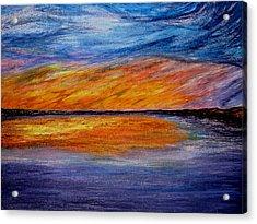 Ember Night Acrylic Print