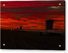 Acrylic Print featuring the photograph Embers Of Dawn by Duncan Selby