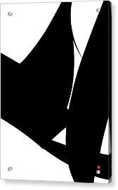 Embrace Acrylic Print by Edward Jensen
