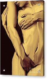 Embrace Acrylic Print by Tbone Oliver