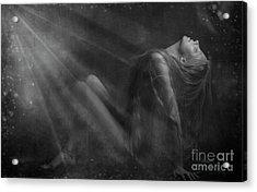 Embraced By The Light.. Acrylic Print by Nina Stavlund