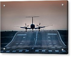Embraer 120-er Acrylic Print by James David Phenicie