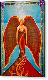 Emeliah Angel Of Inner Journeys Acrylic Print