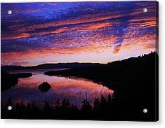 Emerald Bay Awakens Acrylic Print