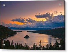 Emerald Bay Before Sunrise Acrylic Print by Marc Crumpler