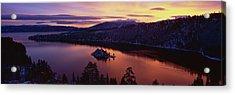 Emerald Bay Lake Tahoe Ca Acrylic Print by Panoramic Images