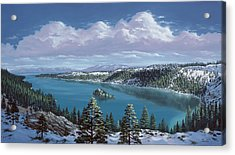 Emerald Bay - Lake Tahoe Acrylic Print