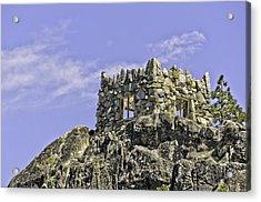 Emerald Bay Lake Tahoe Tea House Acrylic Print by LeeAnn McLaneGoetz McLaneGoetzStudioLLCcom