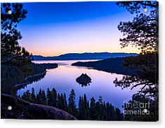 Emerald Bay Sunrise Acrylic Print