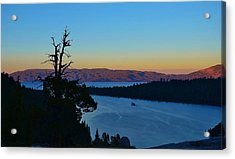 Emerald Bay Sunset Acrylic Print