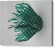 Emerald Glassket Acrylic Print by Steven Schramek