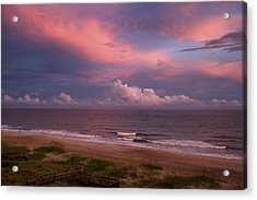 Emerald Isle Sunset Acrylic Print