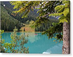 Emerald Lake British Columbia Acrylic Print