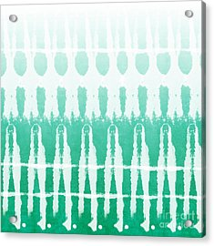 Emerald Ombre  Acrylic Print