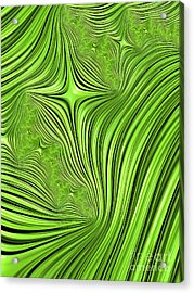 Emerald Scream Acrylic Print