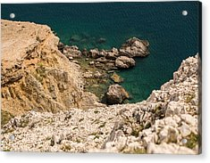 Emerald Sea Acrylic Print by Davorin Mance