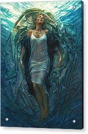Emerge Painting Acrylic Print