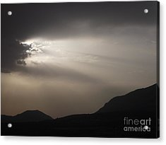 Emergence In Andalusia Acrylic Print by R McLellan