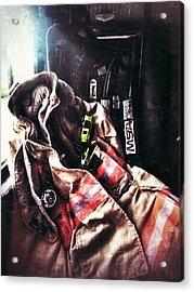 Emergency Standby Acrylic Print