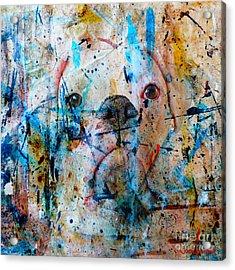 Emerging Acrylic Print by Judy Wood