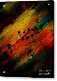 Acrylic Print featuring the digital art Emerging Motive by Lon Chaffin