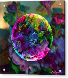 Emerging Spring  Acrylic Print by Robin Moline