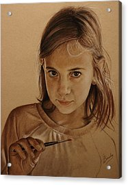 Emerging Young Artist Acrylic Print