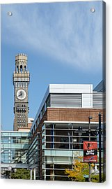 Emerson Bromo-seltzer Tower Acrylic Print by Susan Candelario