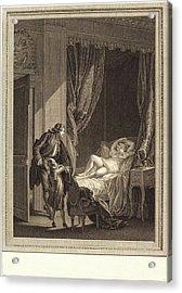 Emmanuel Jean Nepomucène De Ghendt After Pierre-antoine Acrylic Print by Litz Collection