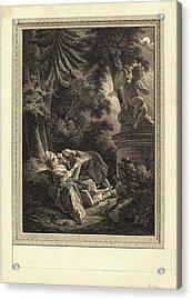Emmanuel Jean Nepomucène De Ghendt After Pierre-antoine Acrylic Print by Quint Lox