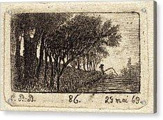 Emmanuel Phélippes-beaulieu, French Born 1829 Acrylic Print by Litz Collection
