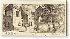 Emmanuel Phélippes-beaulieu French, Born 1829 Acrylic Print by Quint Lox