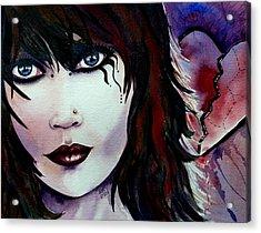 Emo Girl Acrylic Print