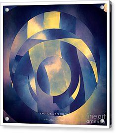 Emotional Approach Acrylic Print by Lonnie Christopher