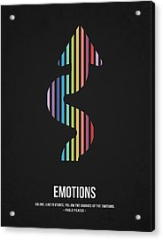 Emotions Acrylic Print by Aged Pixel