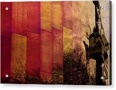 Emp Seattle Reflections  Acrylic Print by Joanna Madloch