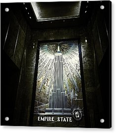 Empire Art Deco Acrylic Print