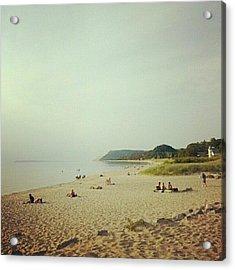 Empire Beach Acrylic Print