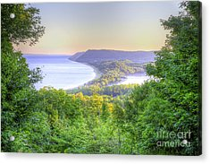Empire Bluff Trail Overlook Acrylic Print