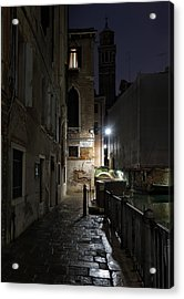 Acrylic Print featuring the photograph Empire Of Venetian Light by Marion Galt