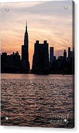 Empire On 5th Avenue Acrylic Print