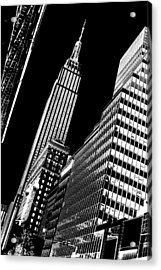 Empire Perspective Acrylic Print by Az Jackson