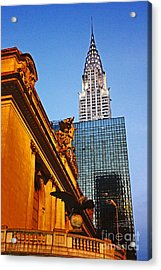 Empire State Acrylic Print by Alison Tomich