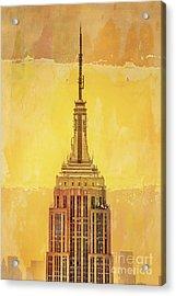 Empire State Building 4 Acrylic Print by Az Jackson